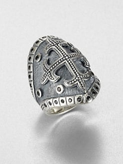 Scott Kay - Sterling Silver Cross Ring