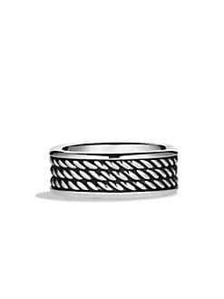 David Yurman - Sterling Silver Band