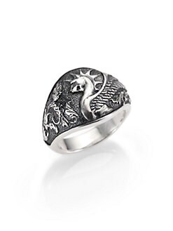 David Yurman - Griffin Signet Ring