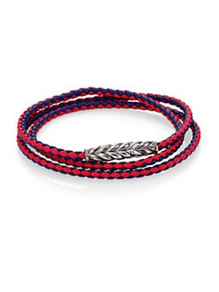 David Yurman - Triple-Wrap Ojime Chevron Bracelet