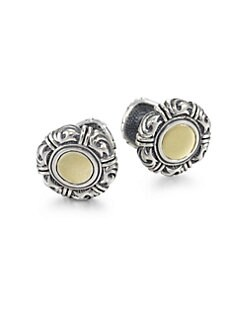 Scott Kay - Sterling Silver Sparta Cuff Links