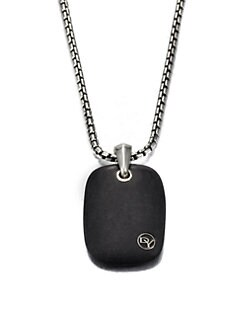 David Yurman - Large Exotic Tablet Pendant