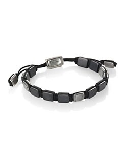 David Yurman - Single-Row Tile Link Bracelet