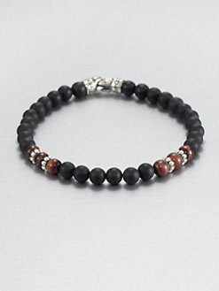 Scott Kay - Matte Black Onyx Beaded Bracelet