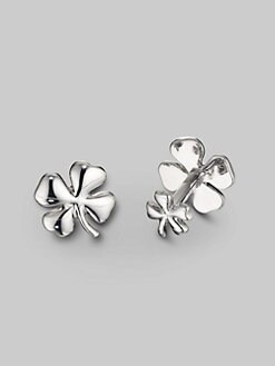 Robin Rotenier - Four-Leaf Clover Cuff Links