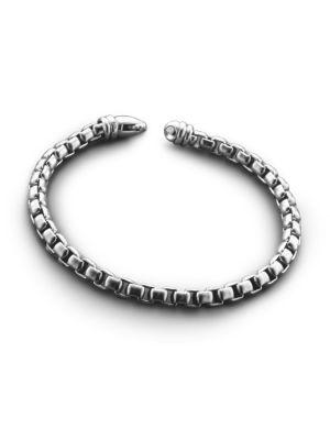 High-Polish Link Bracelet