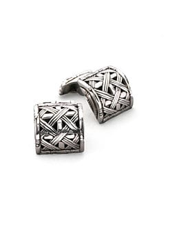 John Hardy - Woven Bamboo Cuff Links