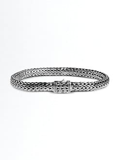 John Hardy - Large Oval Chain Bracelet