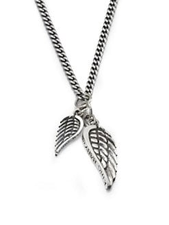 King Baby Studio - Double Wing Pendant Necklace