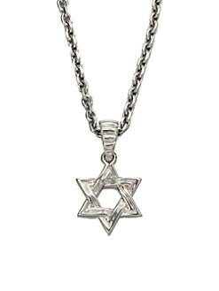 John Hardy - Star of David Pendant Necklace