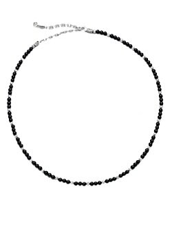 John Hardy - Sterling Silver Necklace/Onyx