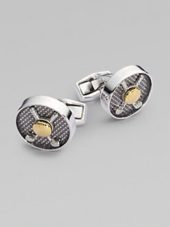 Tateossian - Vintage Sports Cuff Links/Golf