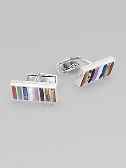 Tateossian - Multi-Stone Cuff Links