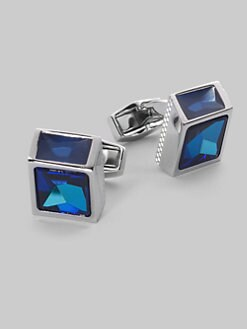 Tateossian - Crystal Cube Cuff Links