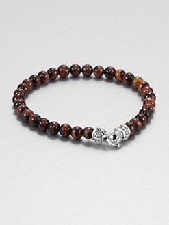 Scott Kay - Tiger's Eye Beaded Bracelet
