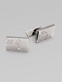 Burberry - Heritage Stamp Metal Cuff Links