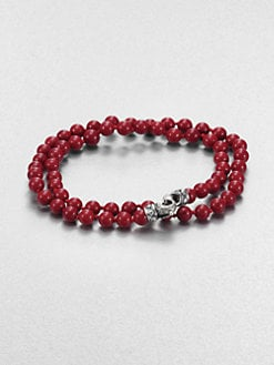 Scott Kay - 6MM Double Wrap Beaded Bracelet