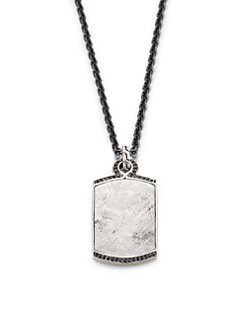 John Hardy - Dog Tag Pendant Necklace