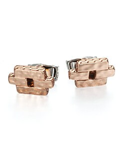 John Hardy - Palu Geometric Cuff Links