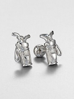 Robin Rotenier - Golf Bag Cuff Links