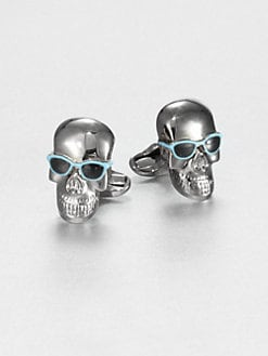 Paul Smith - Skull/Sunglass Cuff Links