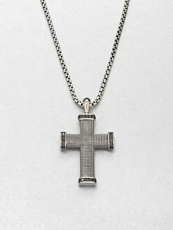 David Yurman - Diamond Sky Cross Necklace