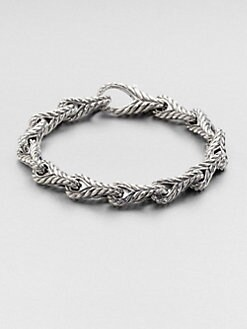 David Yurman - Chevron Figure 8 Link Bracelet