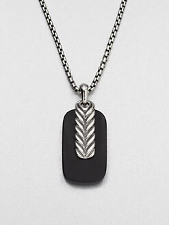 David Yurman - Chevron Pendant Necklace
