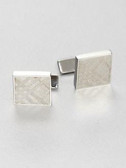 Burberry - Textured Twill Cuff Links