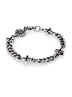 King Baby Studio - Ancient Cross Chain Bracelet