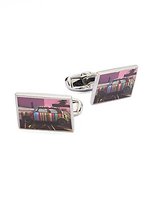 Buy paul smith cufflinks - Paul Smith Photographic Minicar Cuff Links