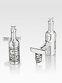 Robin Rotenier - Wine Bottle Cuff Links
