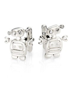 Prada - Sterling Silver Cuff Links
