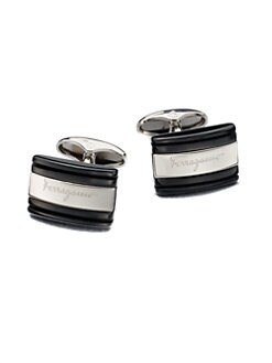 Salvatore Ferragamo - Rectangular Cuff Links