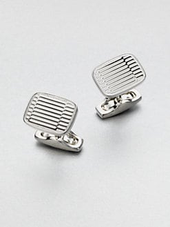 Salvatore Ferragamo - Gem Grafico Cuff Links