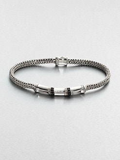 John Hardy - Sterling Silver Station Bracelet