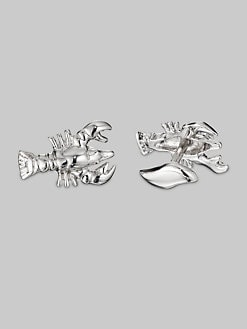Robin Rotenier - Silver Lobster Cuff Links