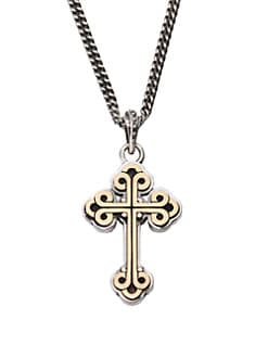 King Baby Studio - Traditional Cross Pendant Necklace