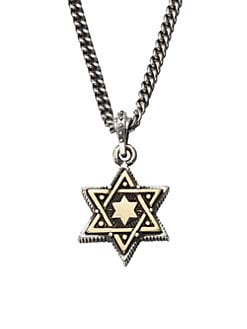 King Baby Studio - Star of David Pendant Necklace