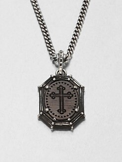 King Baby Studio - Cross Frame Pendant Necklace