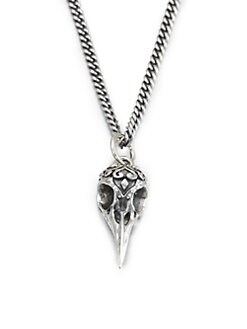King Baby Studio - Raven Skull Pendant Necklace