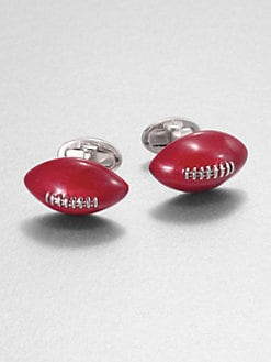Jan Leslie - Football Cuff Links