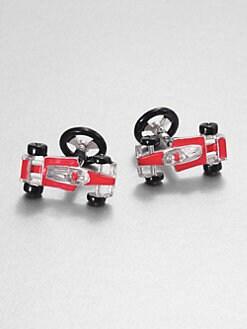 Jan Leslie - Race Car Cuff Links