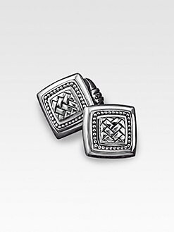Scott Kay - Basketweave Cuff Links