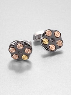 Tateossian - Russian Roulette Cuff Links