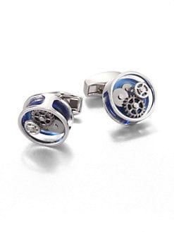 Tateossian - Gear Round Cuff Links