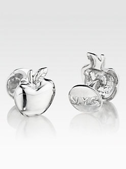Robin Rotenier - Apple Cuff Links
