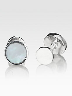 Robin Rotenier - Mother of Pearl Cuff Links