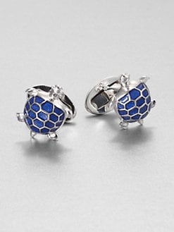 Jan Leslie - BlueTurtle Cuff Links