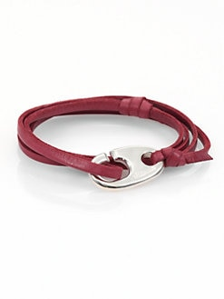 Miansai - Knotted Leather Wrap Bracelet